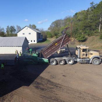 Paving at a Farm