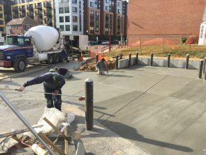 Concrete Apron Installation